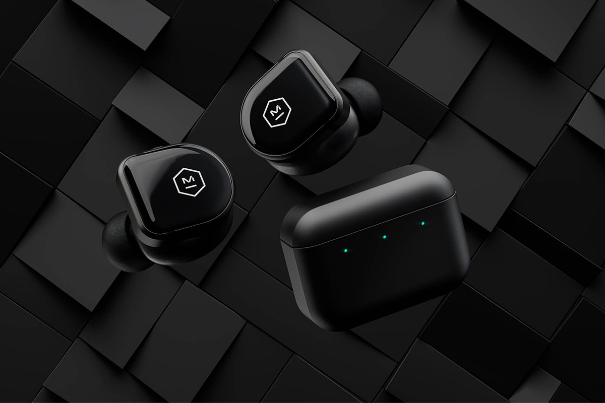 Master & Dynamic MW08 Earbuds Keep You Connected at werd.com