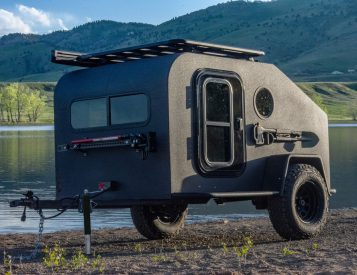 The NS-1 Off-Road Camper is All-Electric