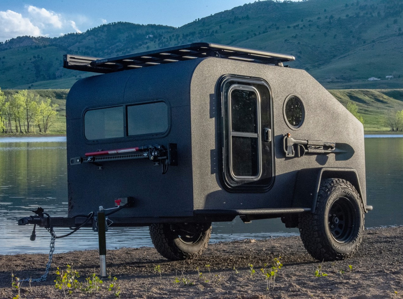 The NS-1 Off-Road Camper is All-Electric at werd.com