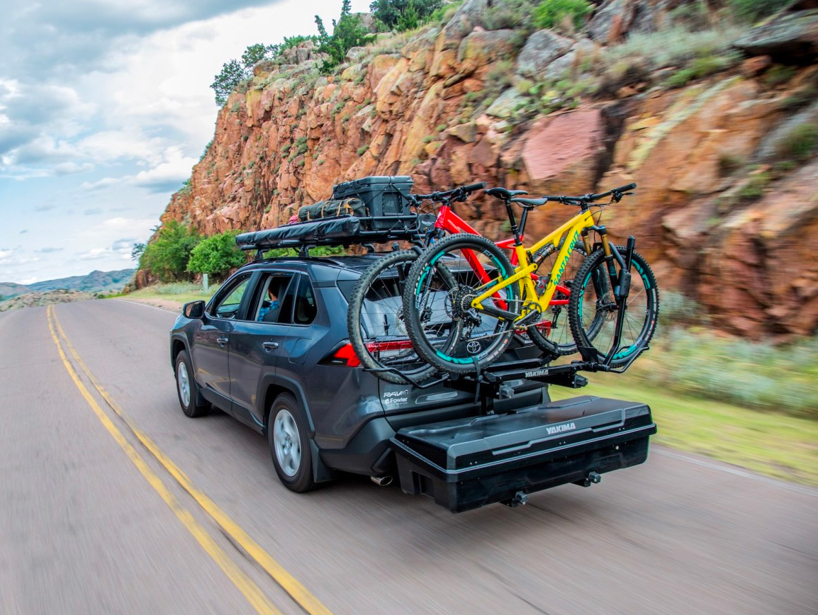 Carry It All On the Hitch with Yakima's EXO System at werd.com
