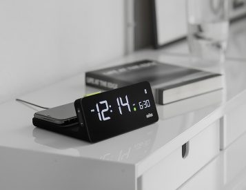Braun's BC21 is your Alarm Clock & Qi Charger In One