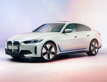 BMW Introduces 530-HP i4 Electric Sedan
