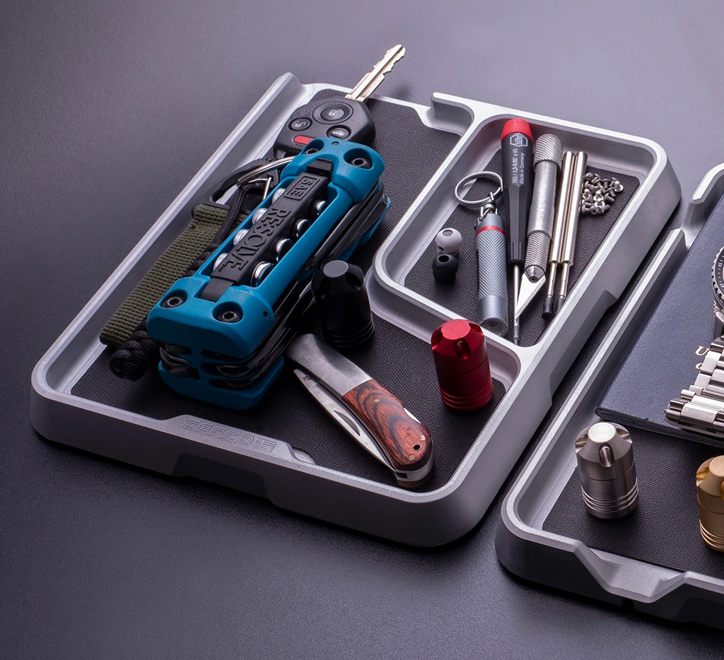 Keep Your EDC Arsenal in a Dango Tray at werd.com