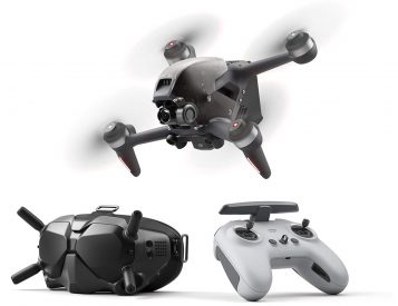 DJI Sends Up Beginner-Friendly, All-In-One FPV Drone