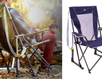 This Spring-Loaded Camp Chair Really Rocks