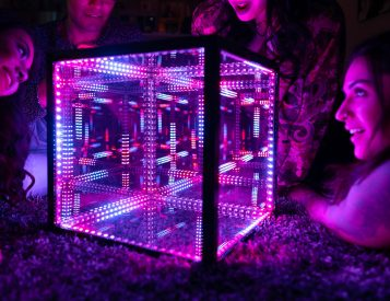 Art and Technology Blended with HyperCube