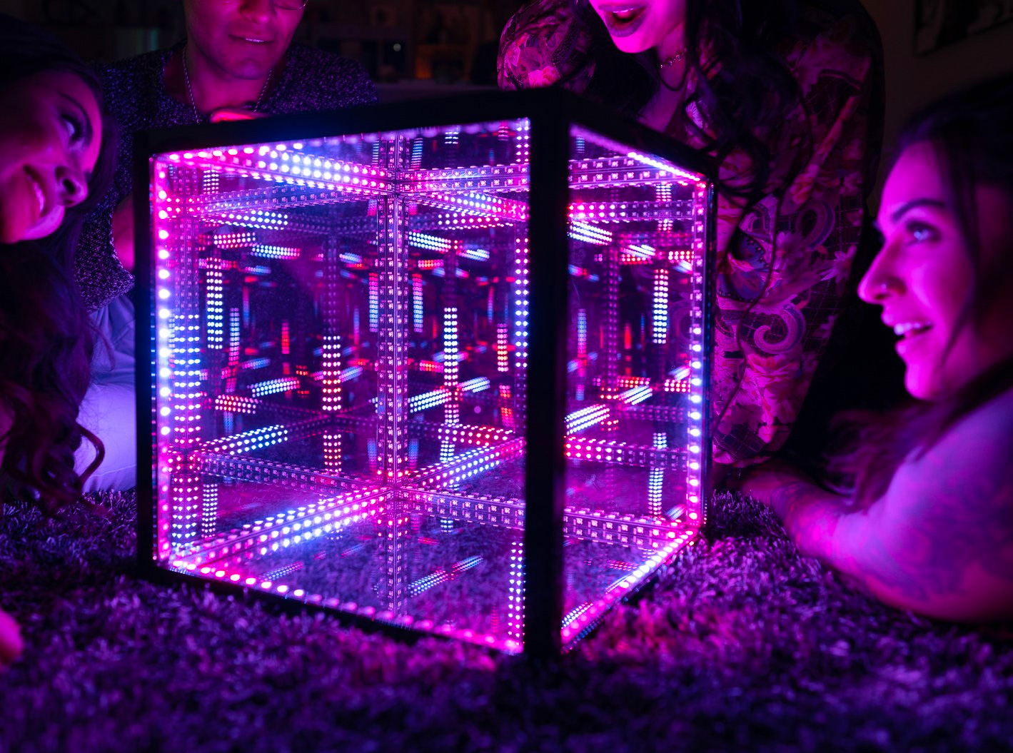 Art and Technology Blended with HyperCube at werd.com