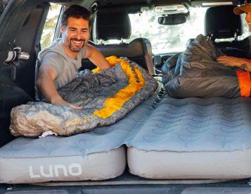 This Air Bed Makes Car Camping Comfy