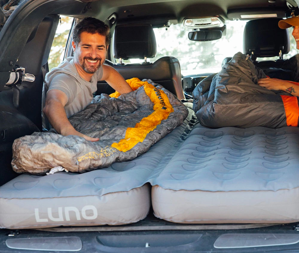 This Air Bed Makes Car Camping Comfy at werd.com