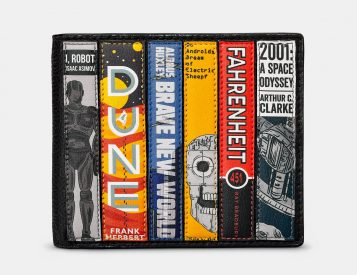 Show Your Love of Reading with a Bookworm Wallet