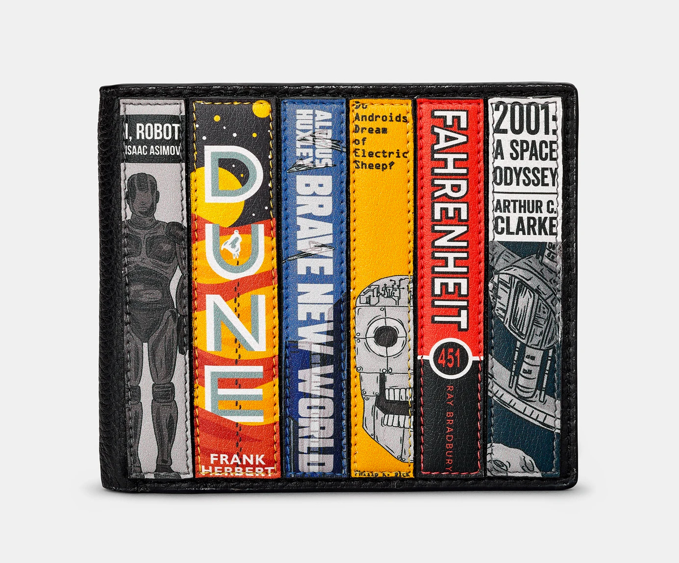 Show Your Love of Reading with a Bookworm Wallet at werd.com