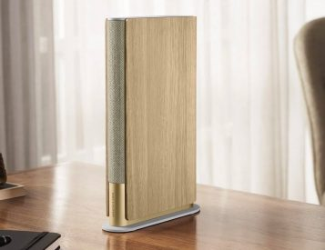 This Bang & Olufsen Speaker Looks Like a Book but Sounds Sweet
