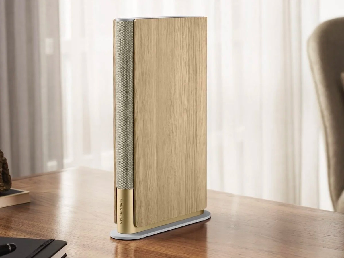 This Bang & Olufsen Speaker Looks Like a Book but Sounds Sweet at werd.com