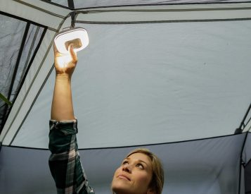 The Core 100 Keeps Your Tent Lit Up After Dark