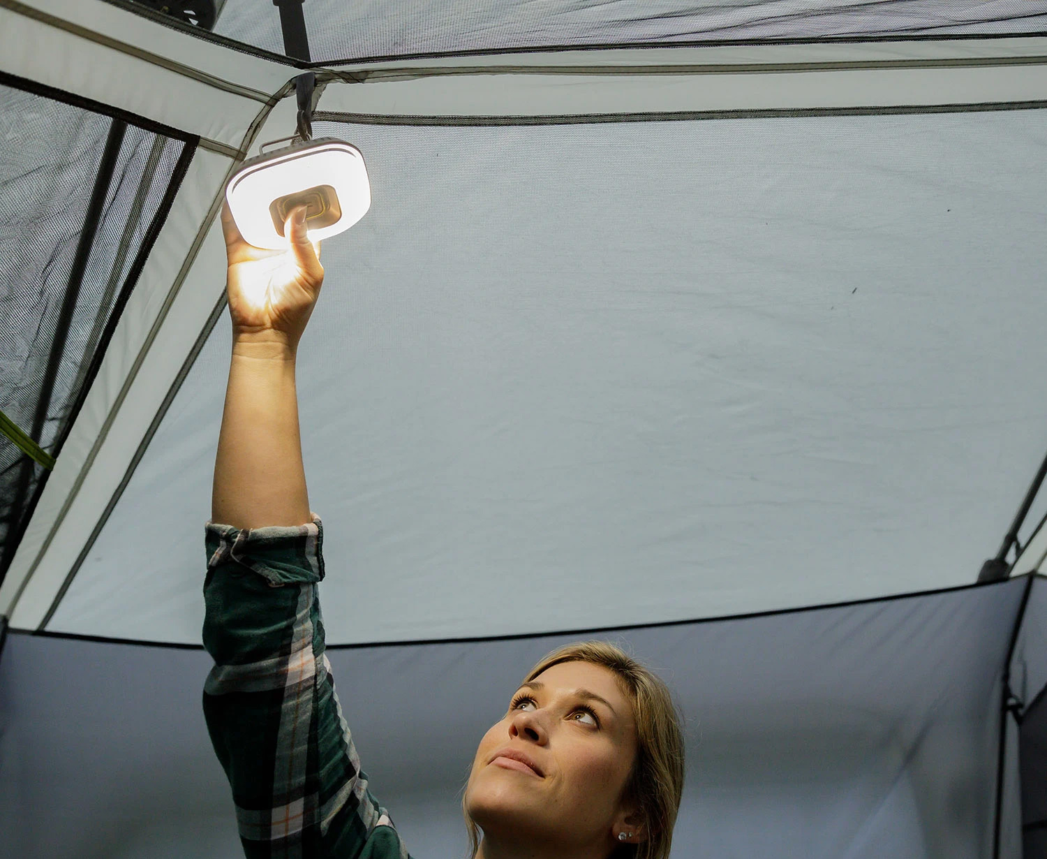 The Core 100 Keeps Your Tent Lit Up After Dark at werd.com