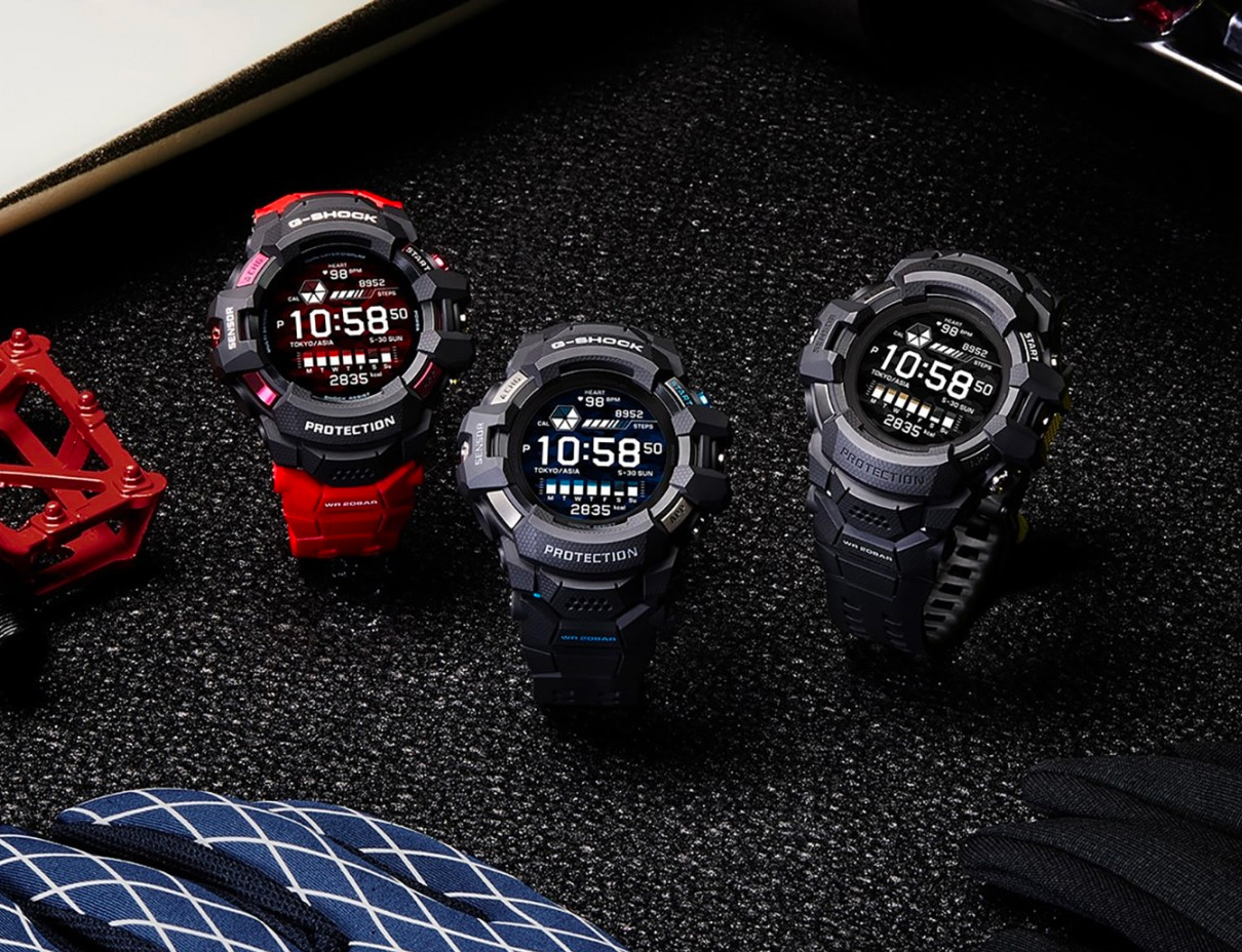 Casio's GSW-H1000 is the Smartest G-Shock Ever at werd.com