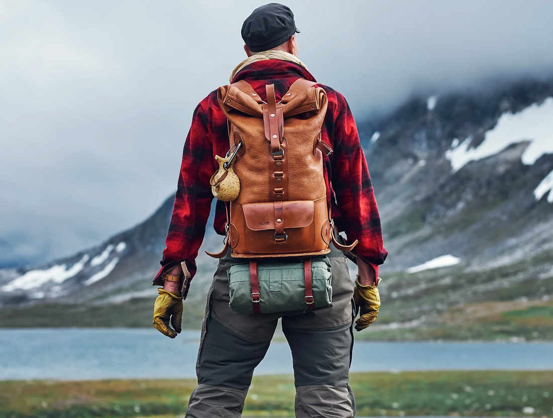 Kasperi Packs are Made of All-Weather Leather at werd.com