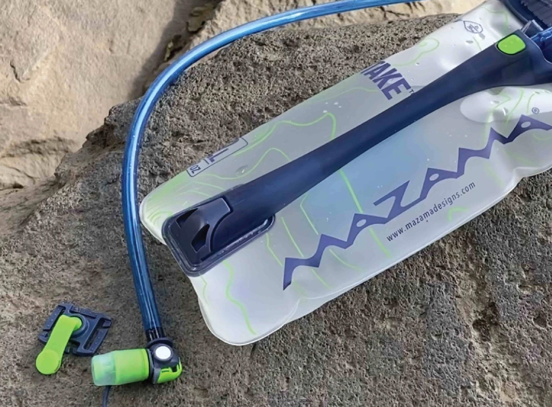 Drink It All In with a Mazama Intake Hydration Bladder at werd.com