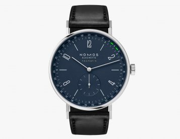 The Tangente Update from NOMOS Tracks the Date in Day-Glo