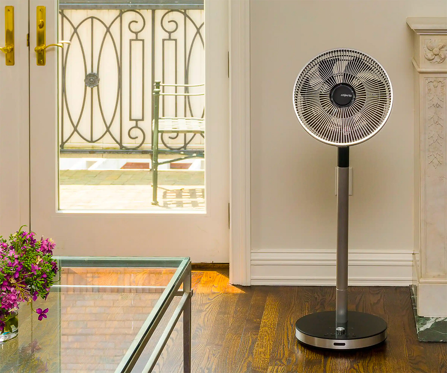 Keep Your Cool with the F5 Adjustable Fan from Objecto at werd.com