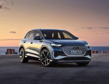 Audi's Q4 E-Tron is an All-Electric Compact Crossover
