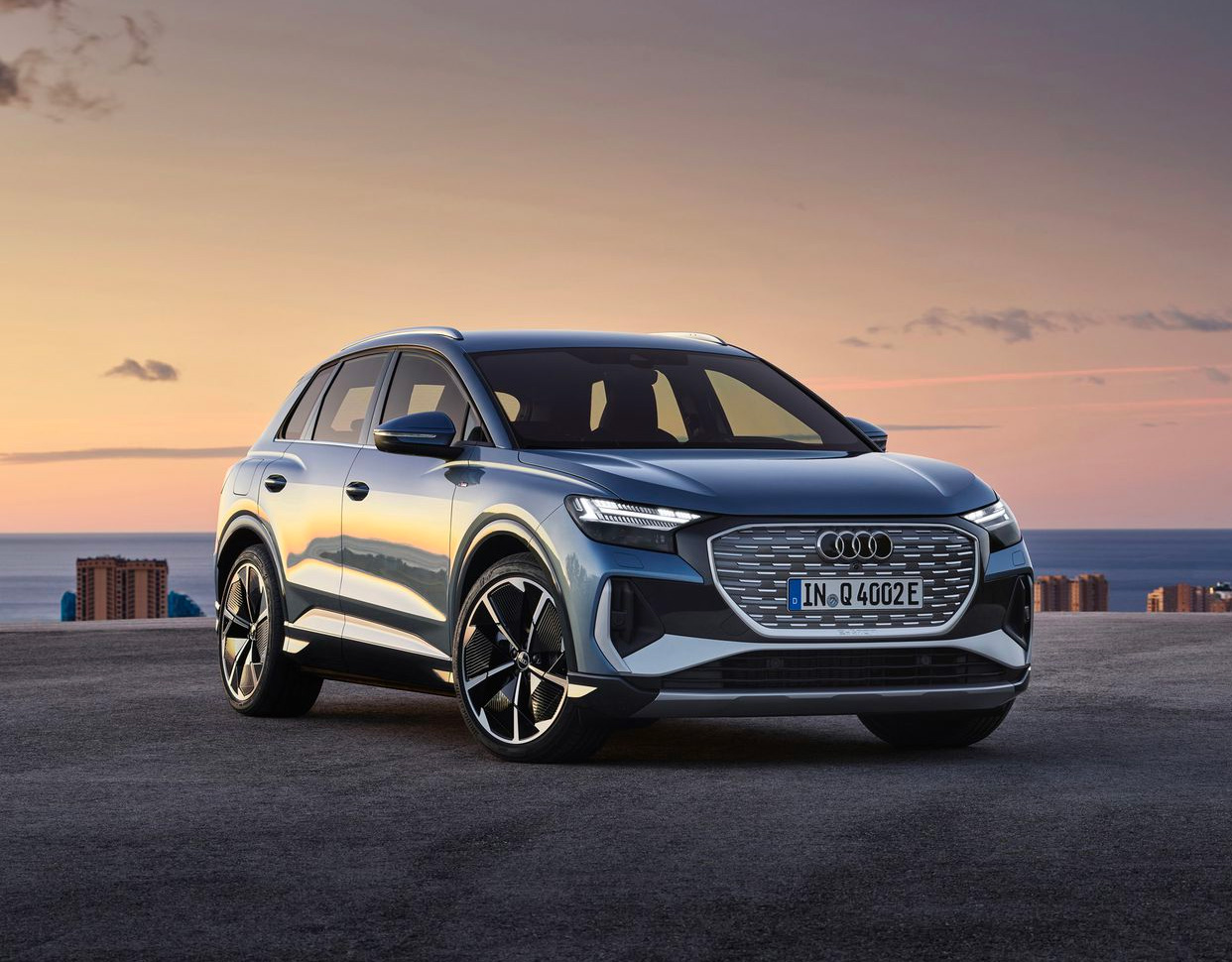 Audi's Q4 E-Tron is an All-Electric Compact Crossover at werd.com