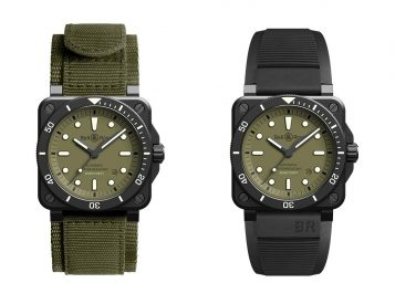 Bell & Ross Enlist Military Styling with Limited 03-92 Diver