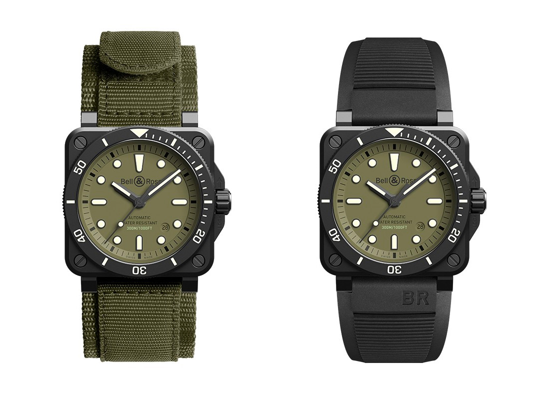 Bell & Ross Enlist Military Styling with Limited 03-92 Diver at werd.com