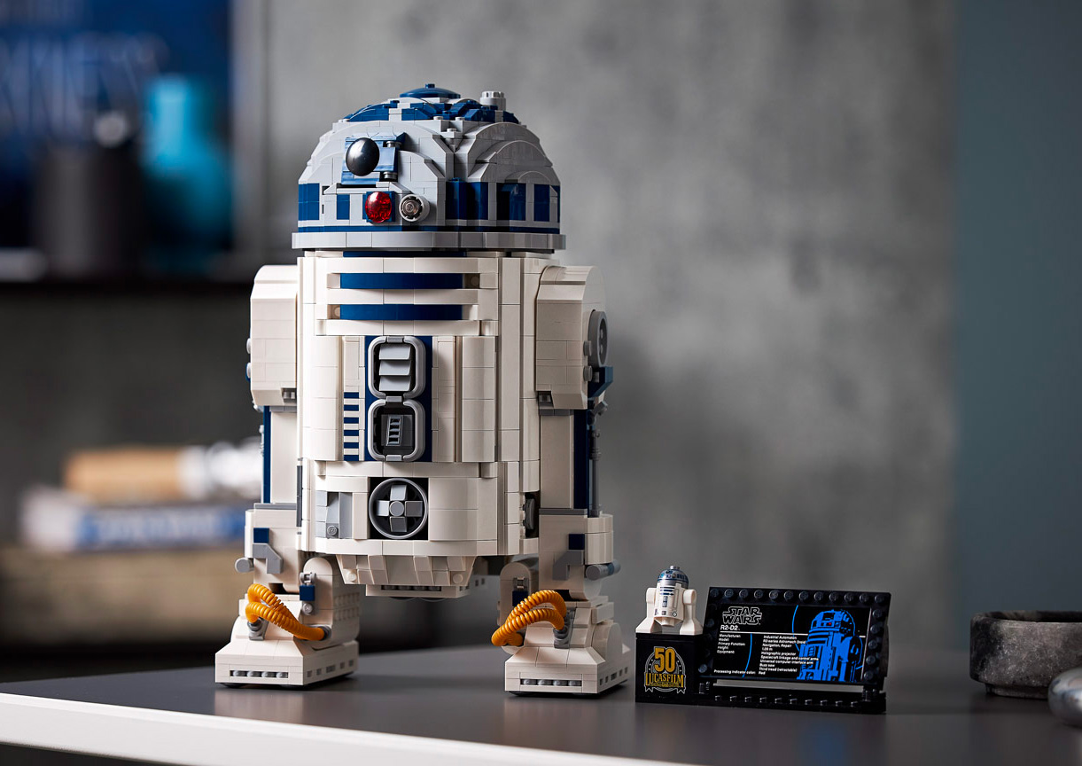 LEGO Rolls Out Updated R2-D2 Droid Set at werd.com