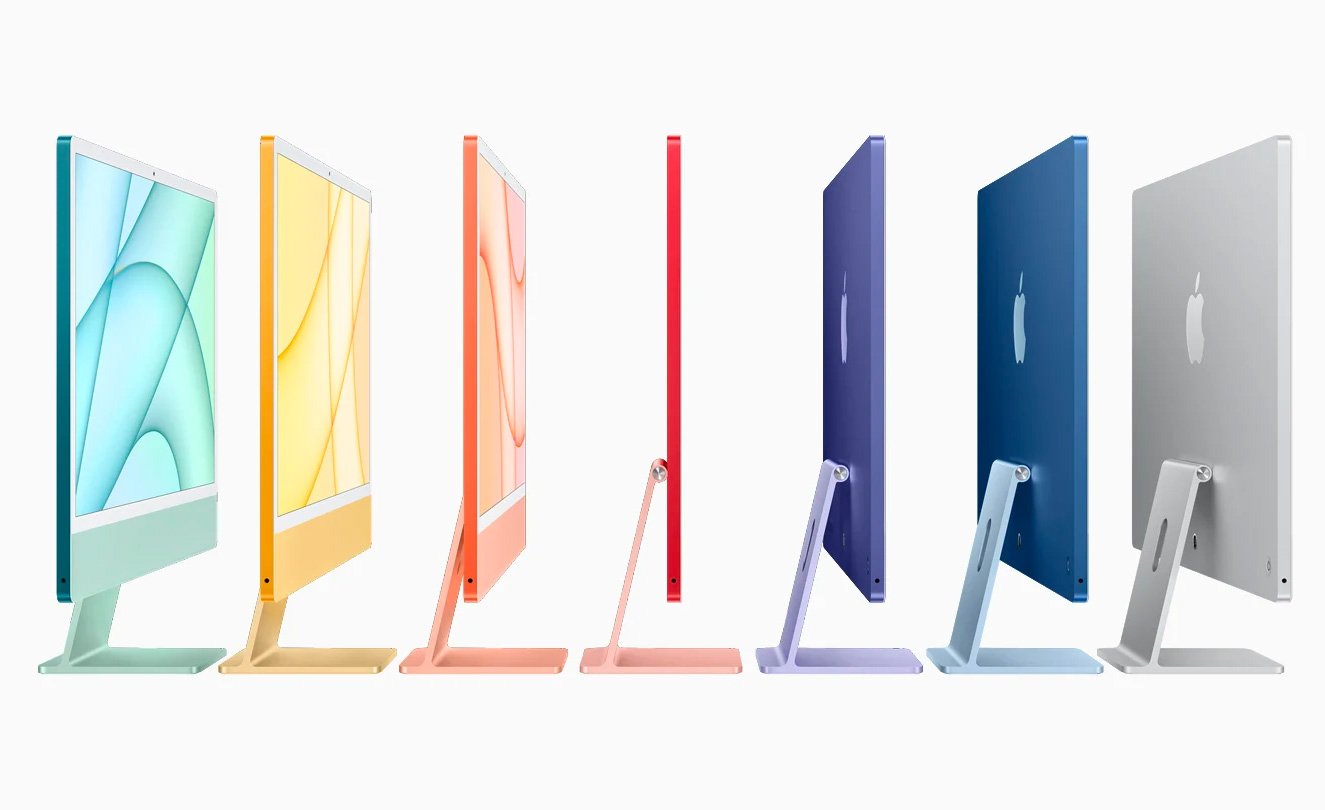 Apple Introduces Colorful, Re-Designed iMac at werd.com