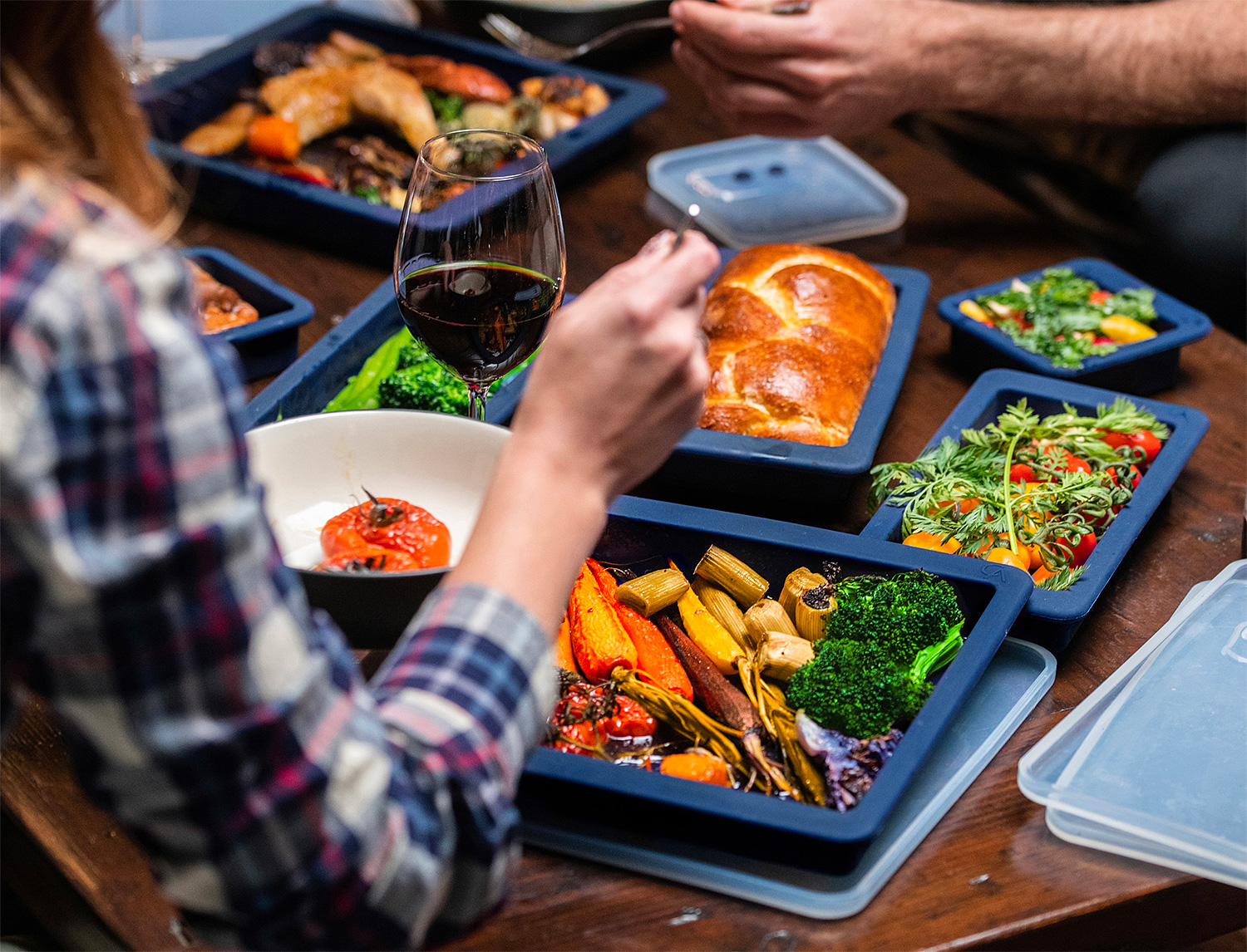 For More Cooking & Less Clean-up Try Omnipan at werd.com