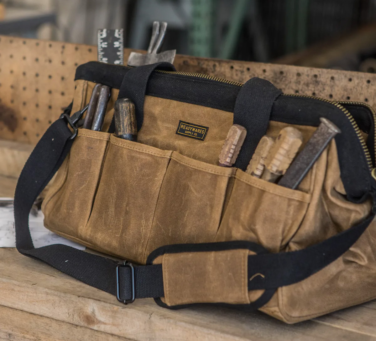 This Rugged Toolbag Carries All the Essentials at werd.com