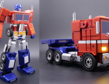 This Optimus Prime Robot is a Real Transformer