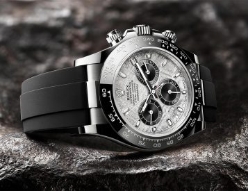 The Cosmograph Daytona with Meteorite Dial is a Rolex from Out Of This World