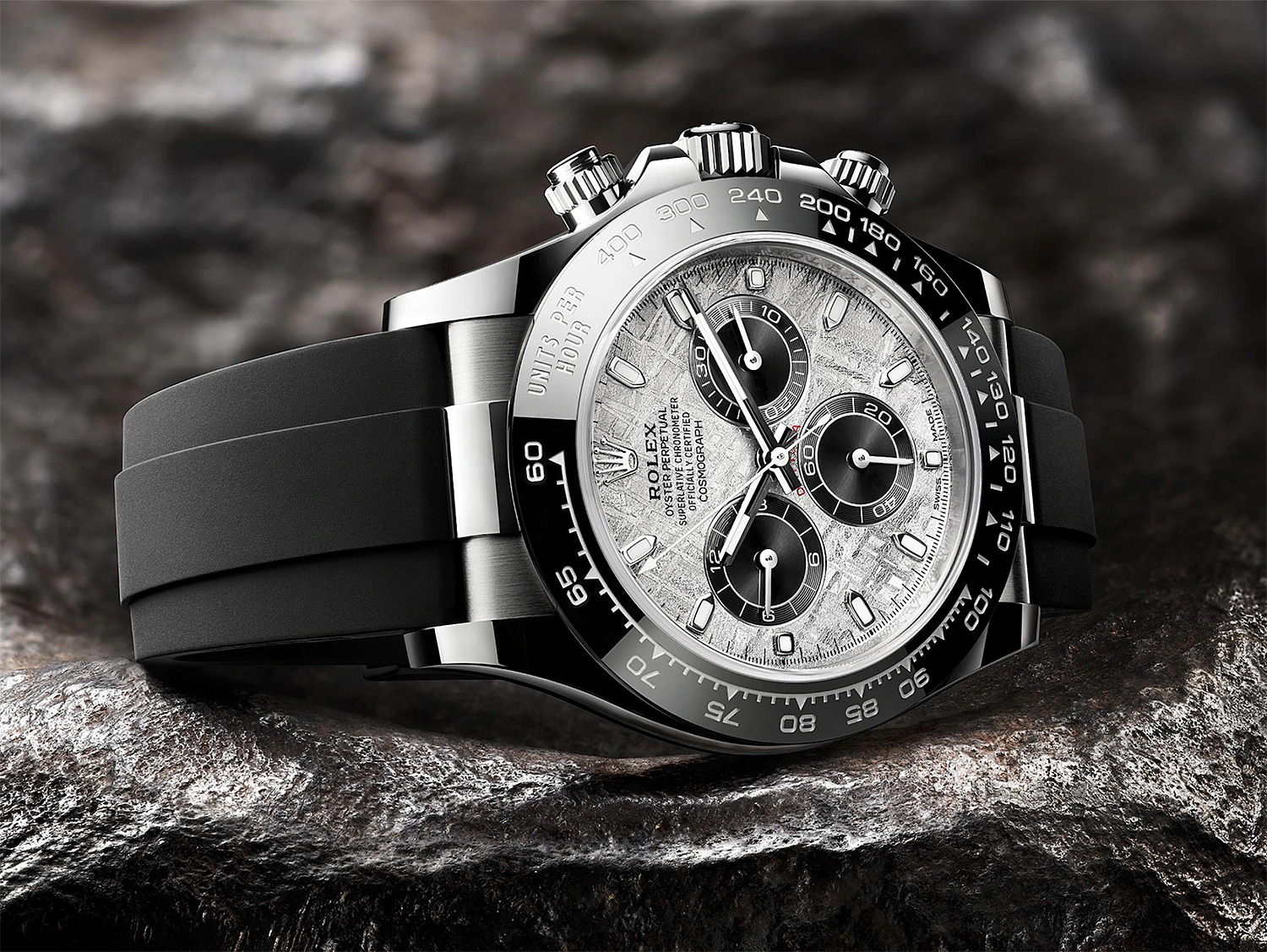 The Cosmograph Daytona with Meteorite Dial is a Rolex from Out Of This World at werd.com