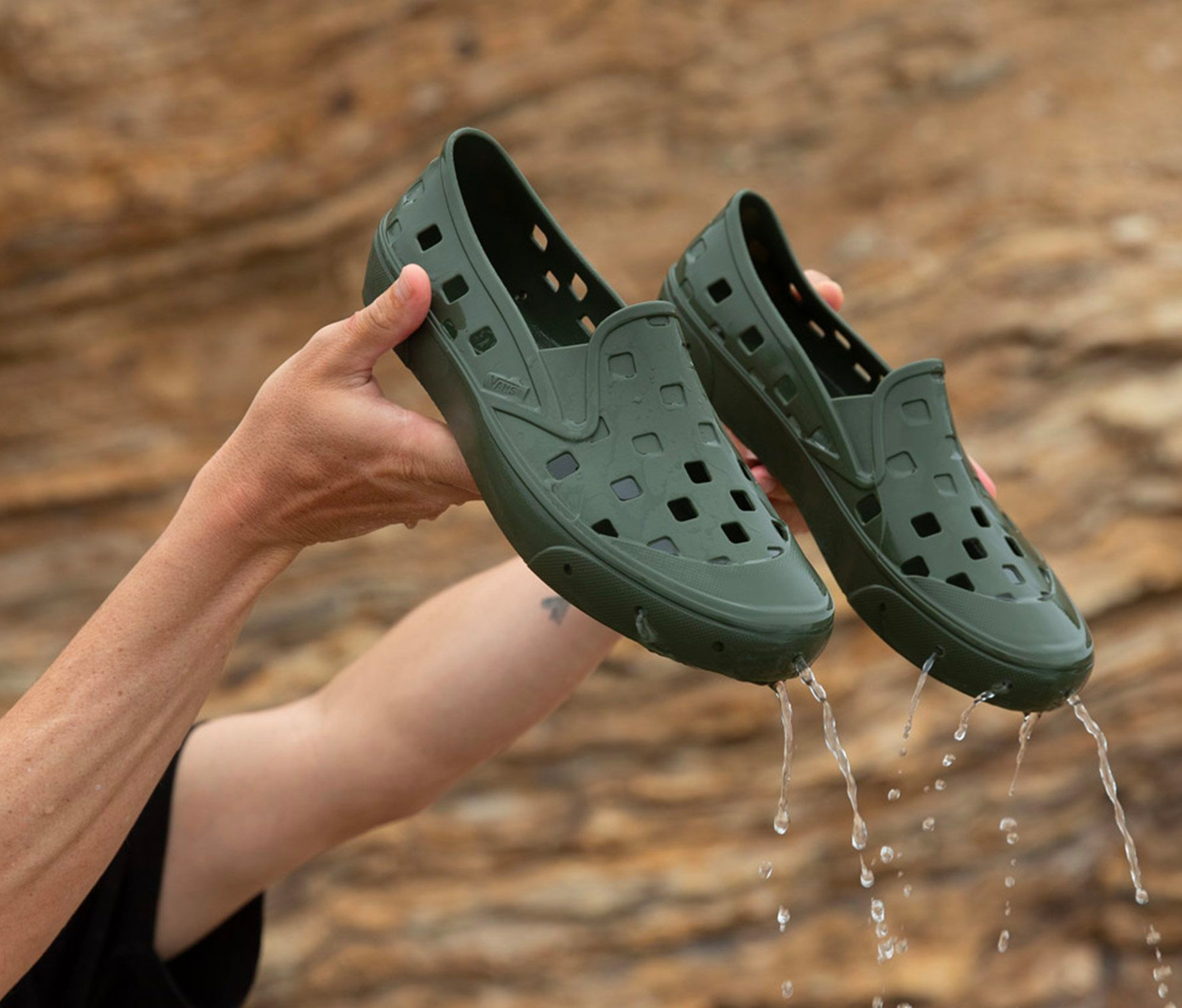 Vans Jumps In with Beach-Ready Trek Slip-On at werd.com
