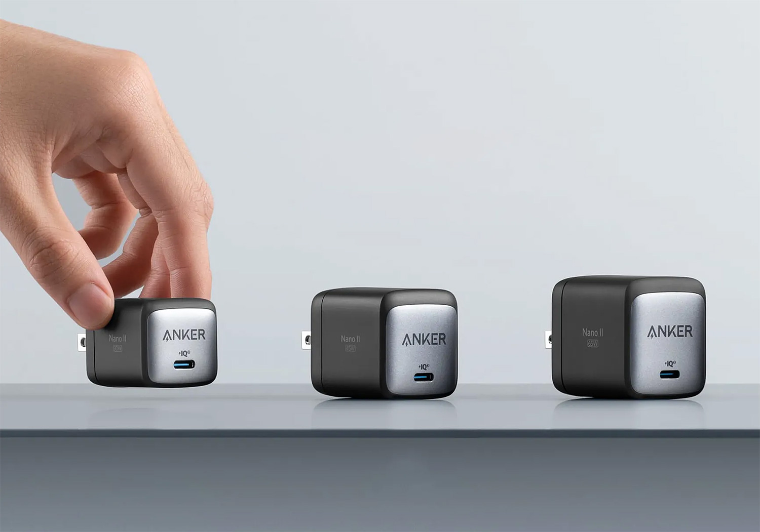 Anker Nano II GaN Chargers: Small Is Powerful at werd.com