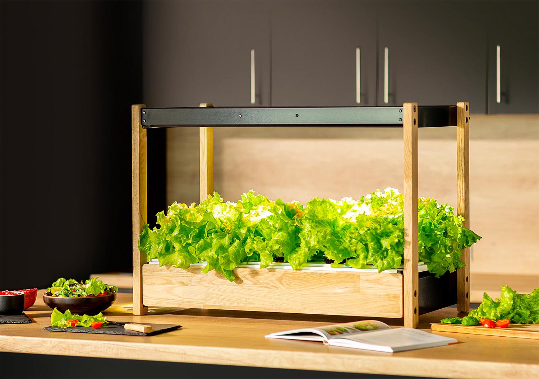 Grow an Edible Garden Indoors with the Click & Grow 25 at werd.com