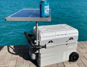 The GoSun Chillest Uses a Solar Power to Keep Cool