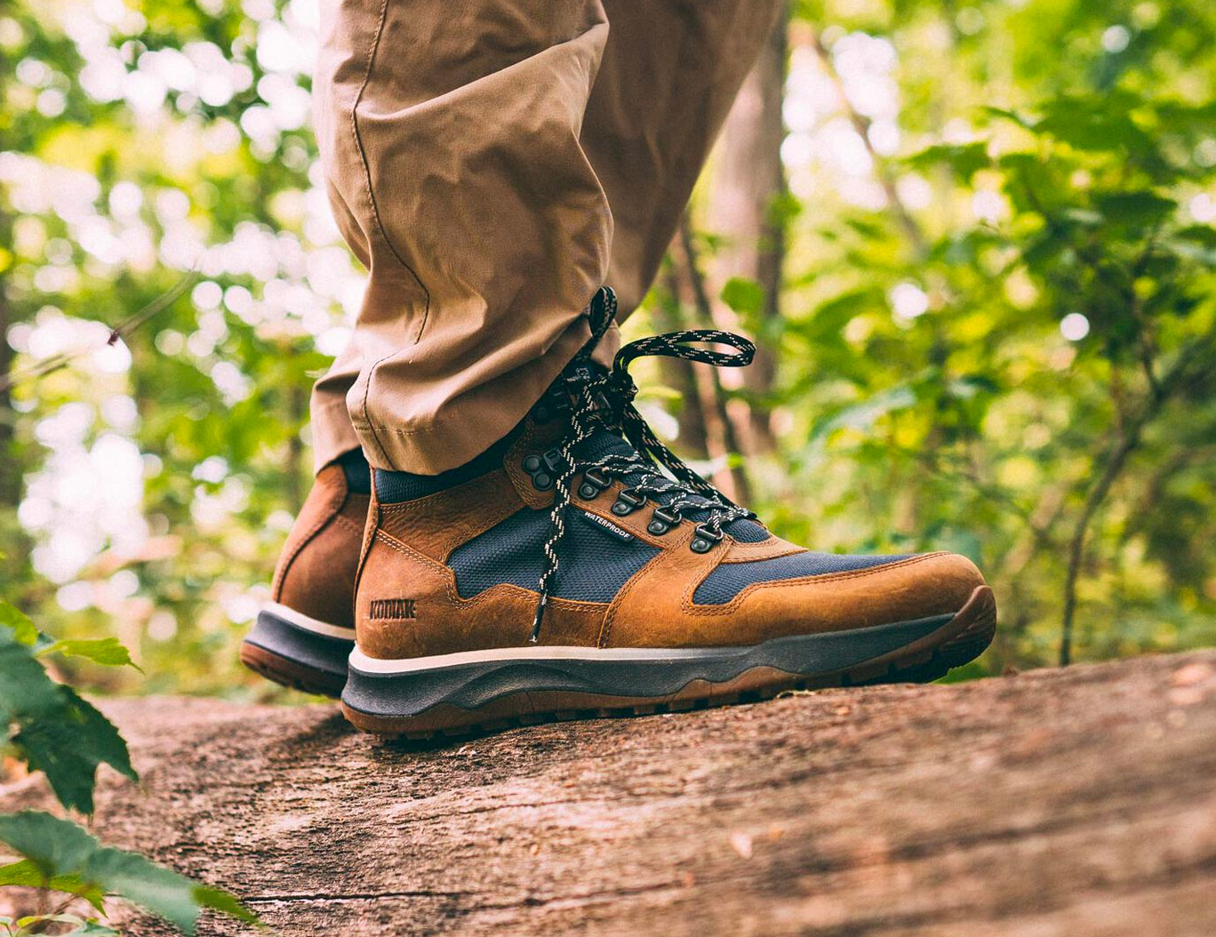 Kodiak Keeps You On the Path with a Waterproof Summer Hiker at werd.com