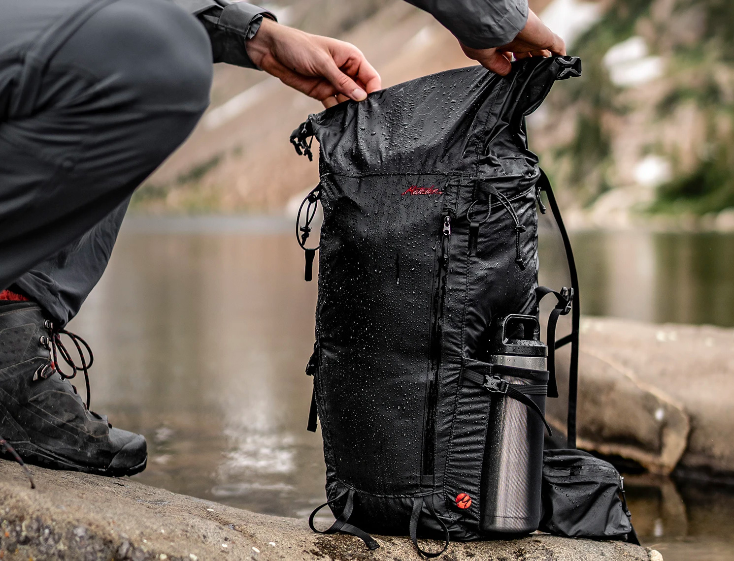 Hike Through Any Weather with Matador's Freerain32 at werd.com