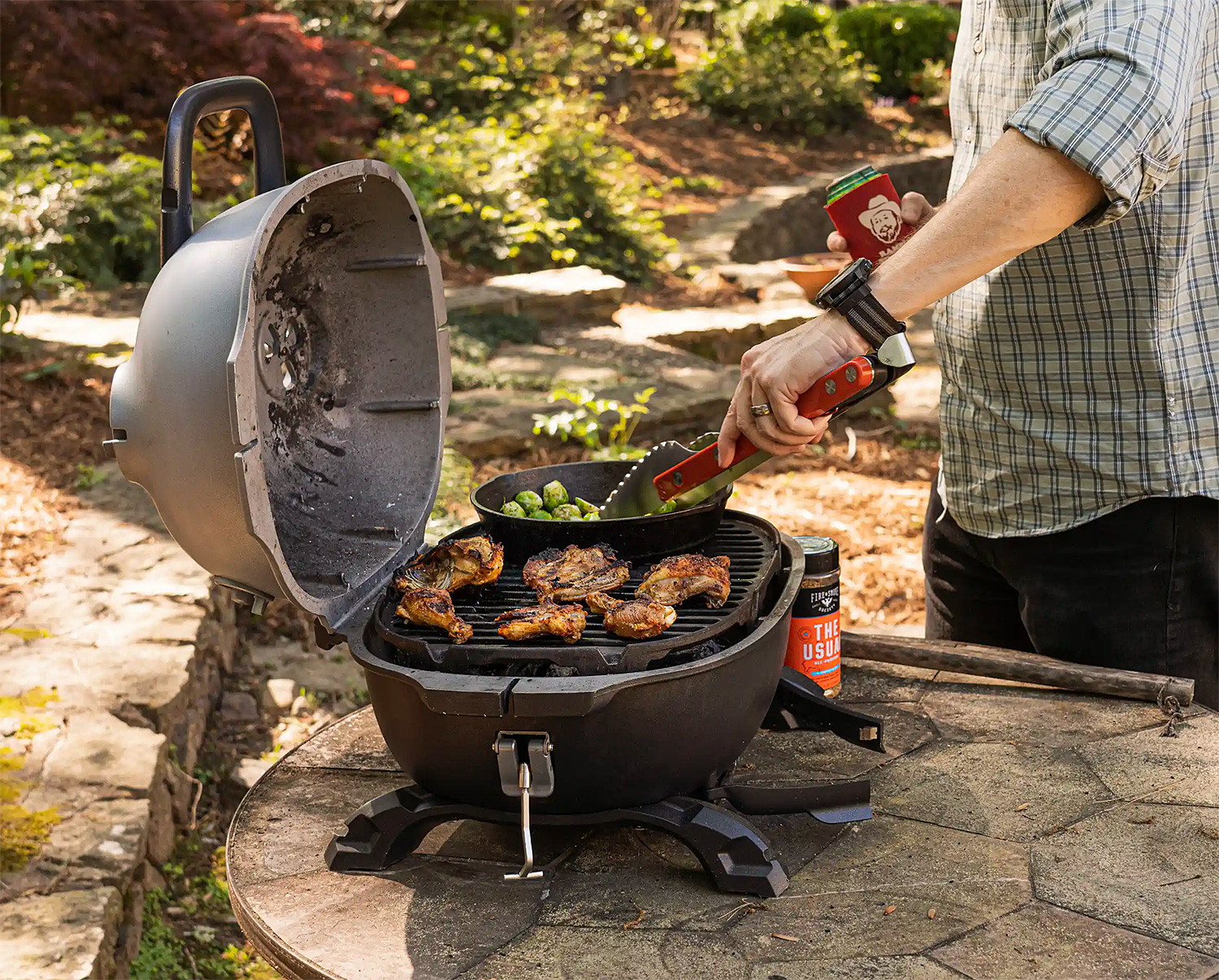 Take Your Smoke Show on the Road with the PKGo Grill at werd.com