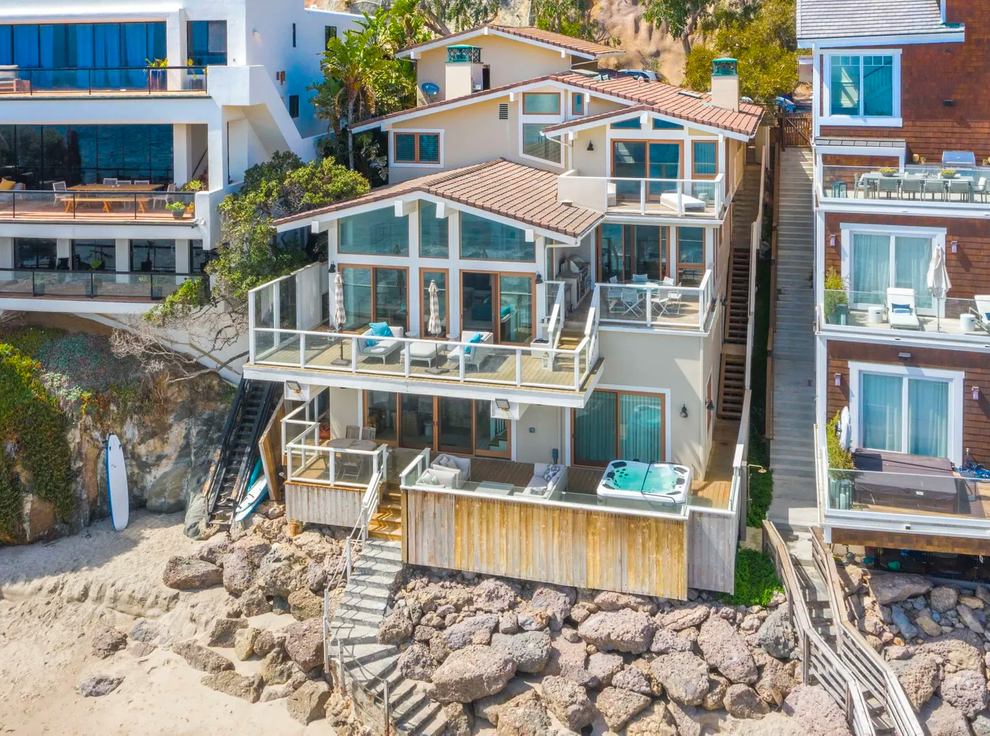 Steve McQueen's Malibu Beach House Could Now Be Yours at werd.com