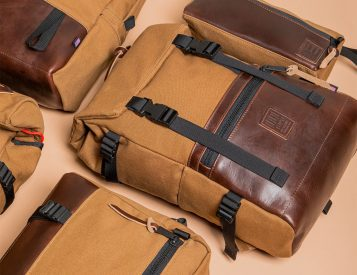Topo Designs' Heritage Canvas Collection Highlights Horween Leather