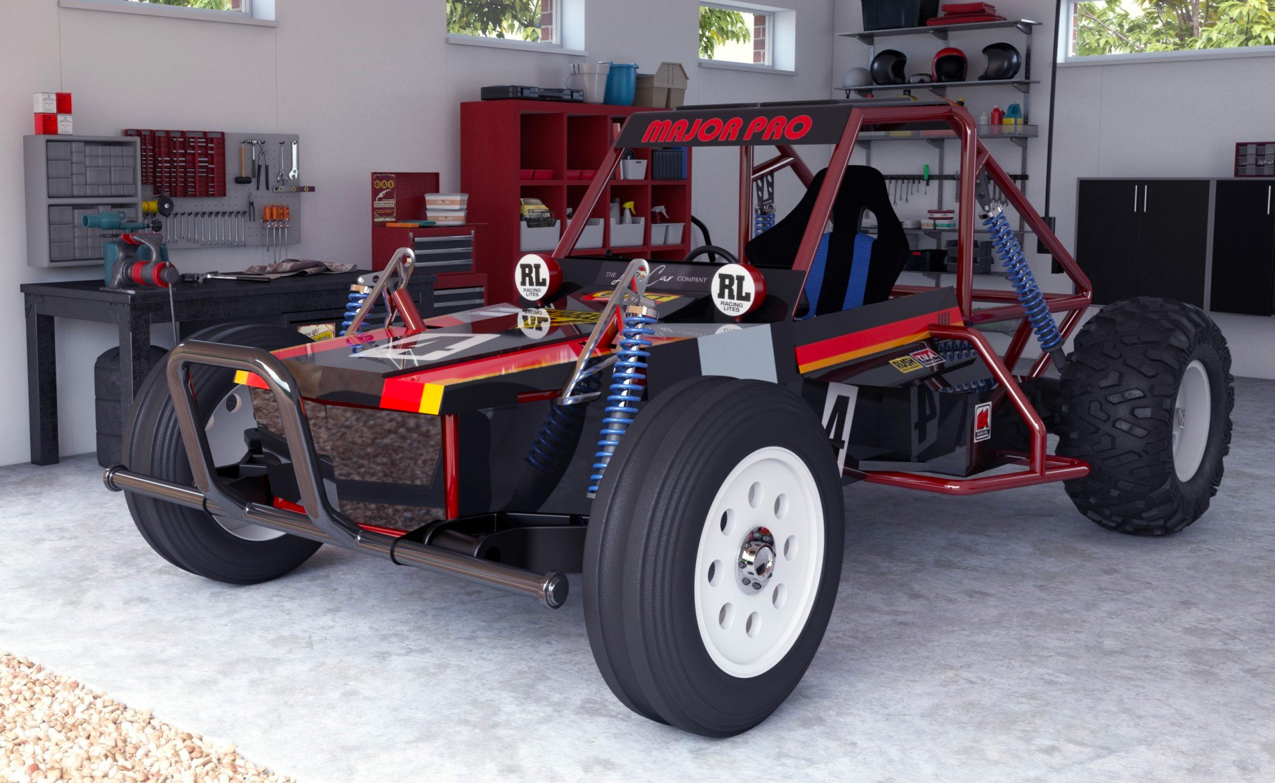 This is a Tamiya Off-Roader You Can Actually Drive at werd.com