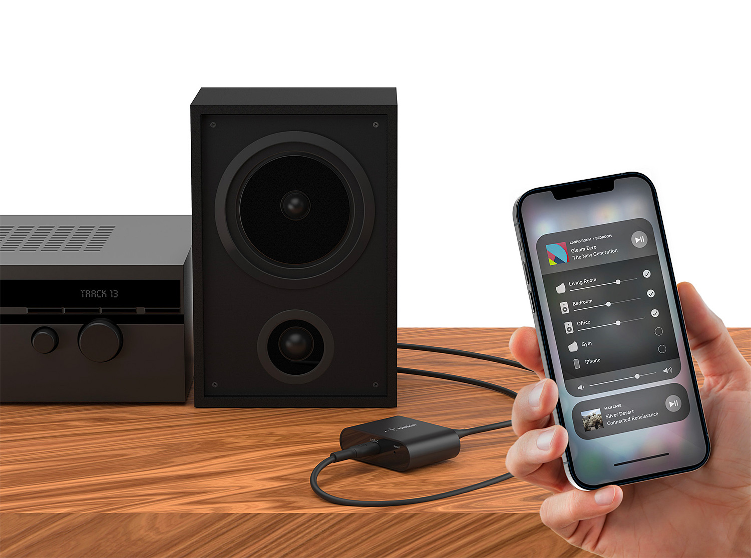 The Belkin Soundform Connect Dongle Gives Your Speaker AirPlay 2 Ability at werd.com