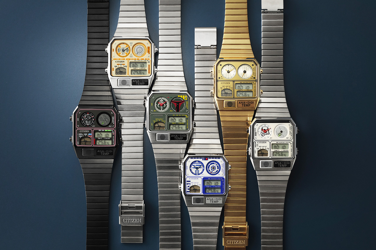 Citizen & <i>Star Wars</i> Announce 6 New Ana-Digi Watches at werd.com