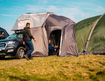 The AER Rooftop Tent Fits the Whole Fam