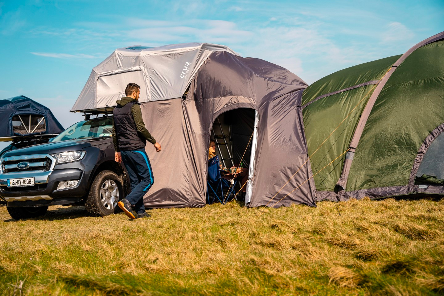 The AER Rooftop Tent Fits the Whole Fam at werd.com