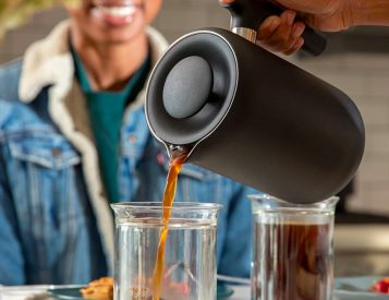Clara Pours You A Better French Press Coffee